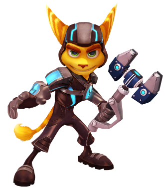 Ratchet Clank High Quality PNG 8671