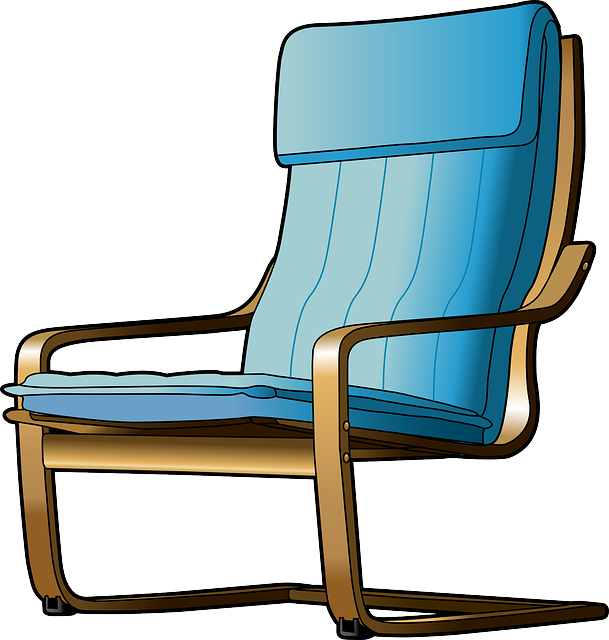 Chair, Cartoon, Furniture, Seat, Recliner Png  1906