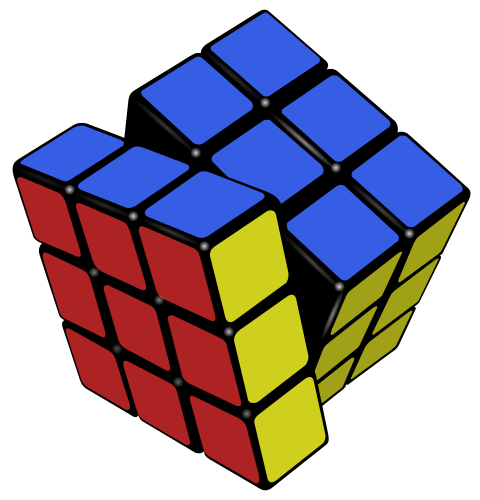 Rubiks Cube Game Clipart Image 25688