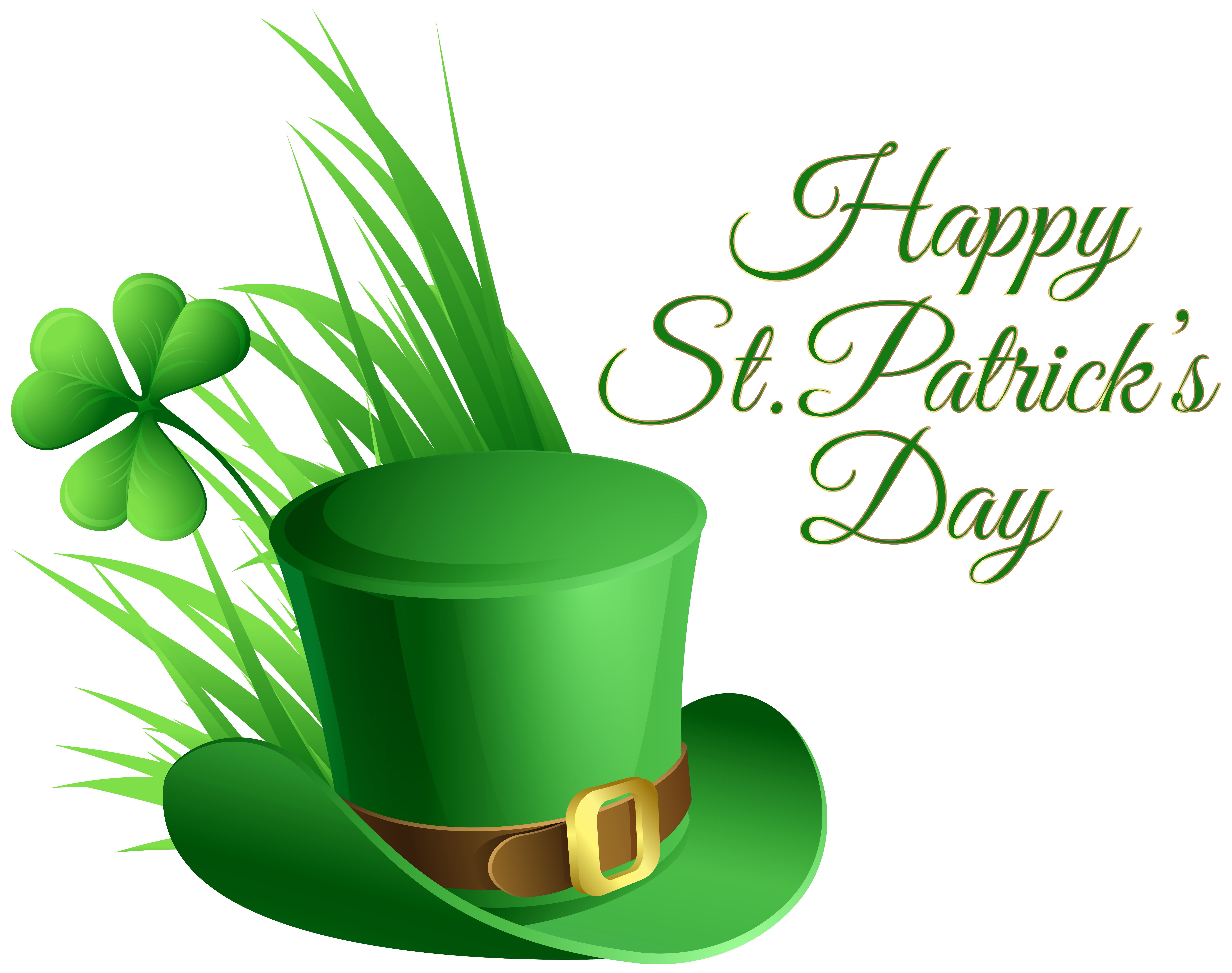 Rosa, Hat, Green St Patrick Day Clip Art