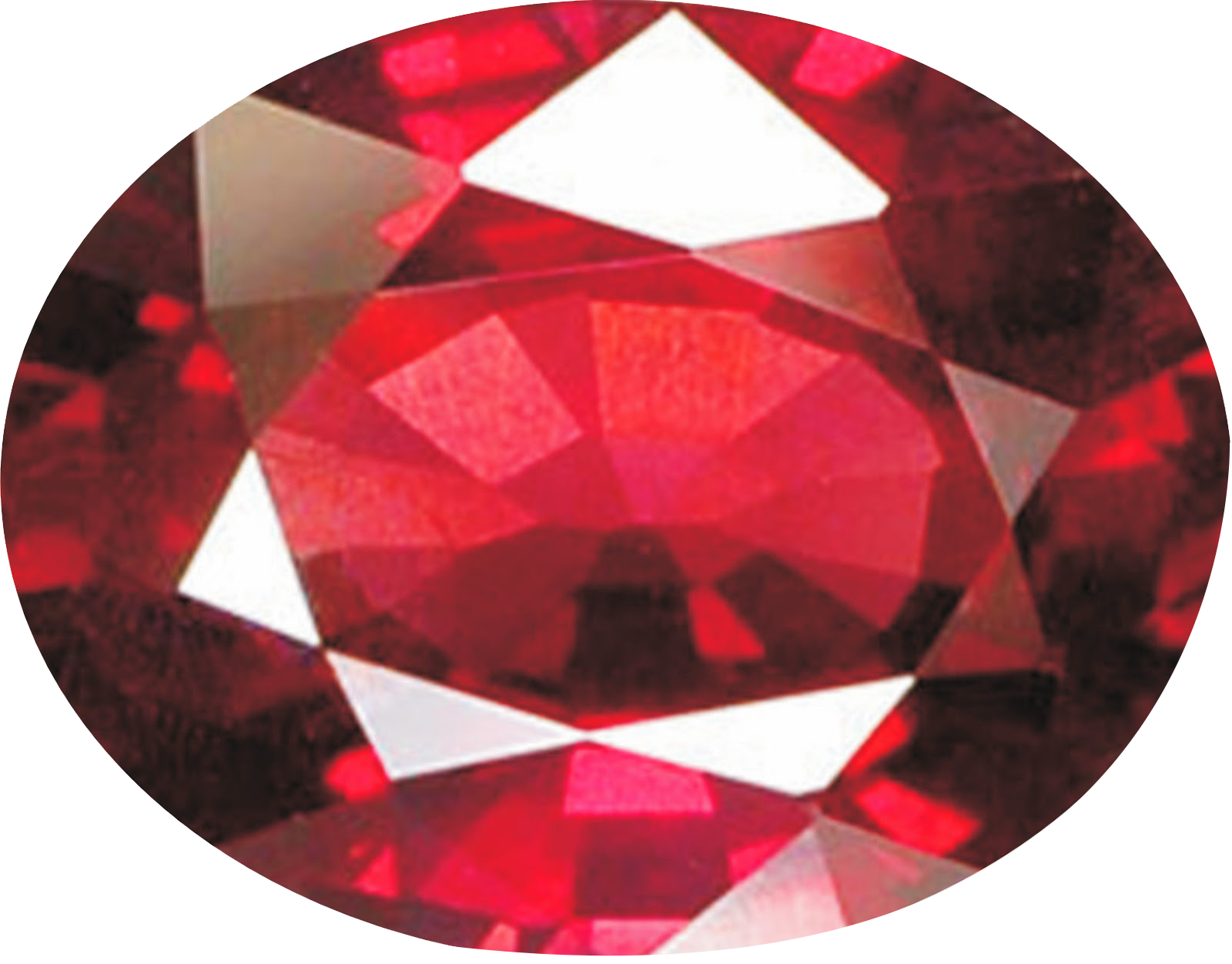 Ruby Stone Png Transparent Image  2740