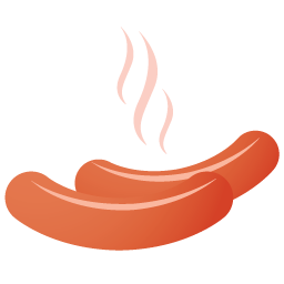 Sausage Icon Png 4881
