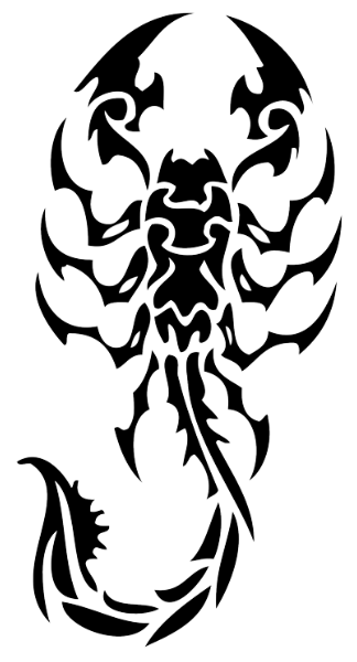 Scorpion Tattoos Free PNG 6964