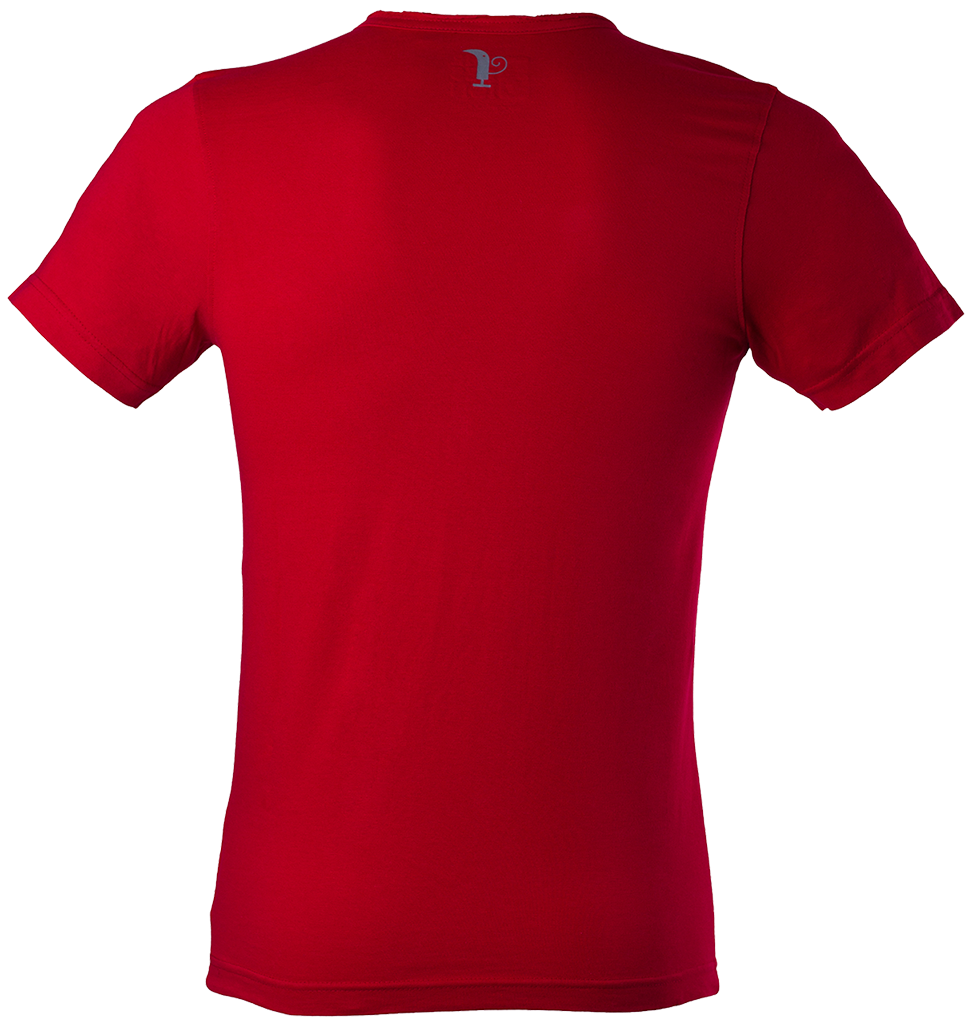 Clothing T Shirt Red Free Cut Out 23767