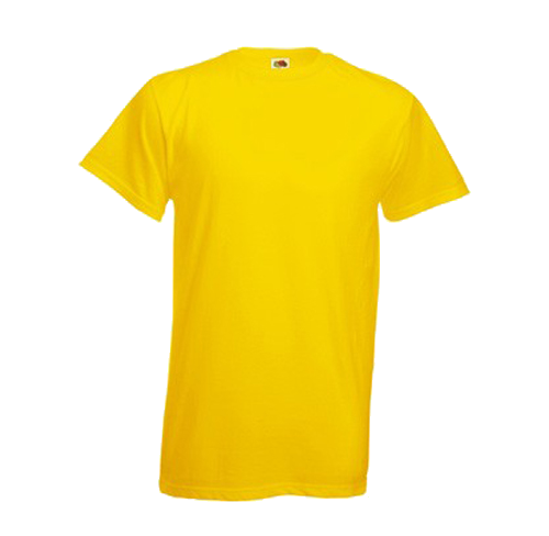 Yellow Shirt Clipart PNG File 23773