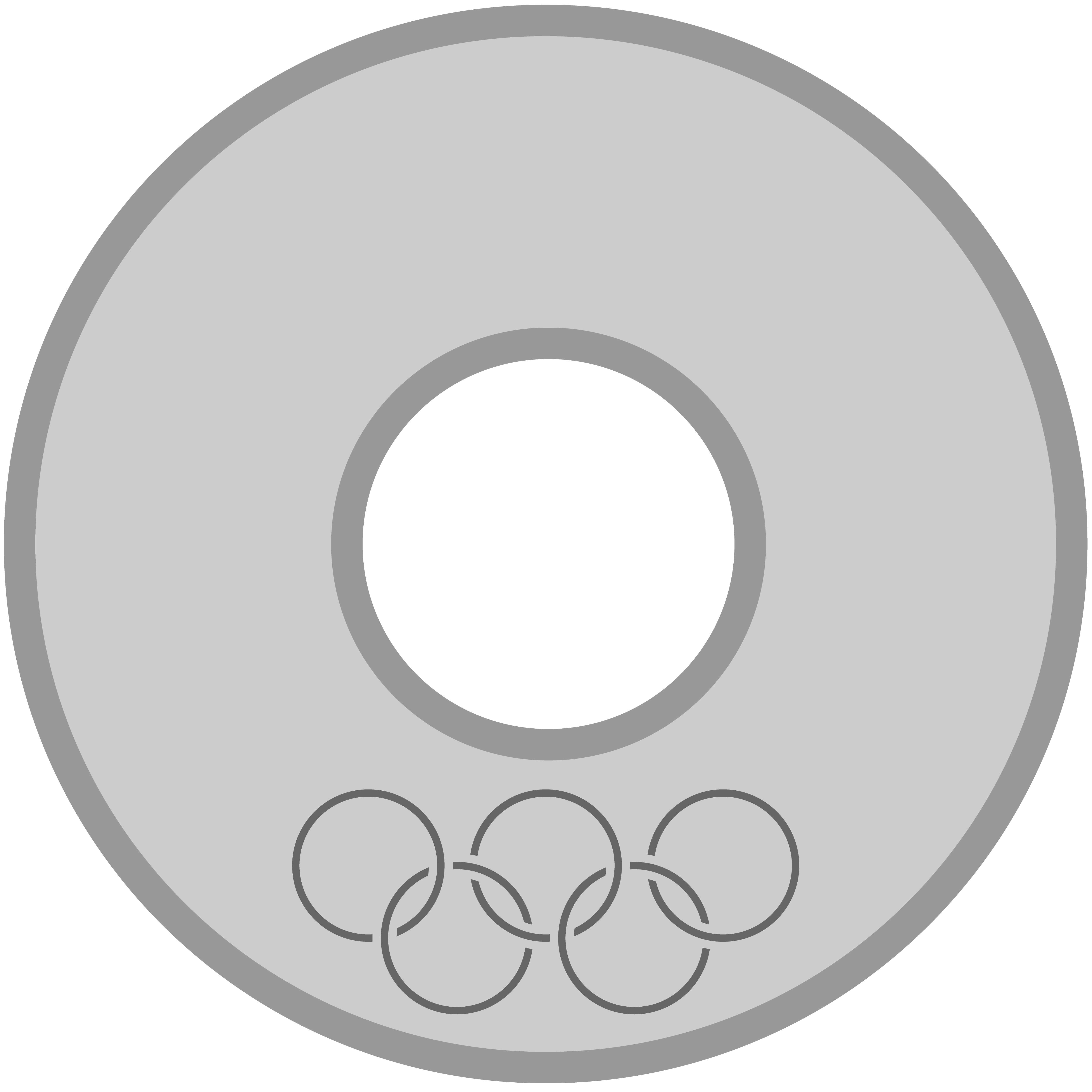 Olympic Silver Medal Png