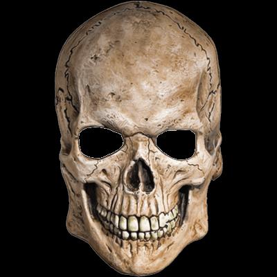 Skeleton Head Simple - 18241 - TransparentPNG