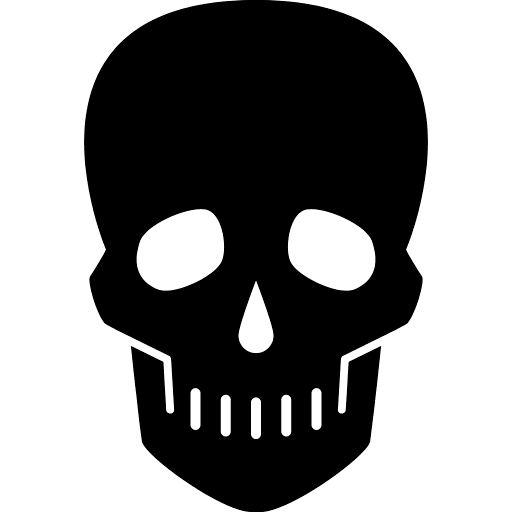 Skeleton Head PNG Icon 18297