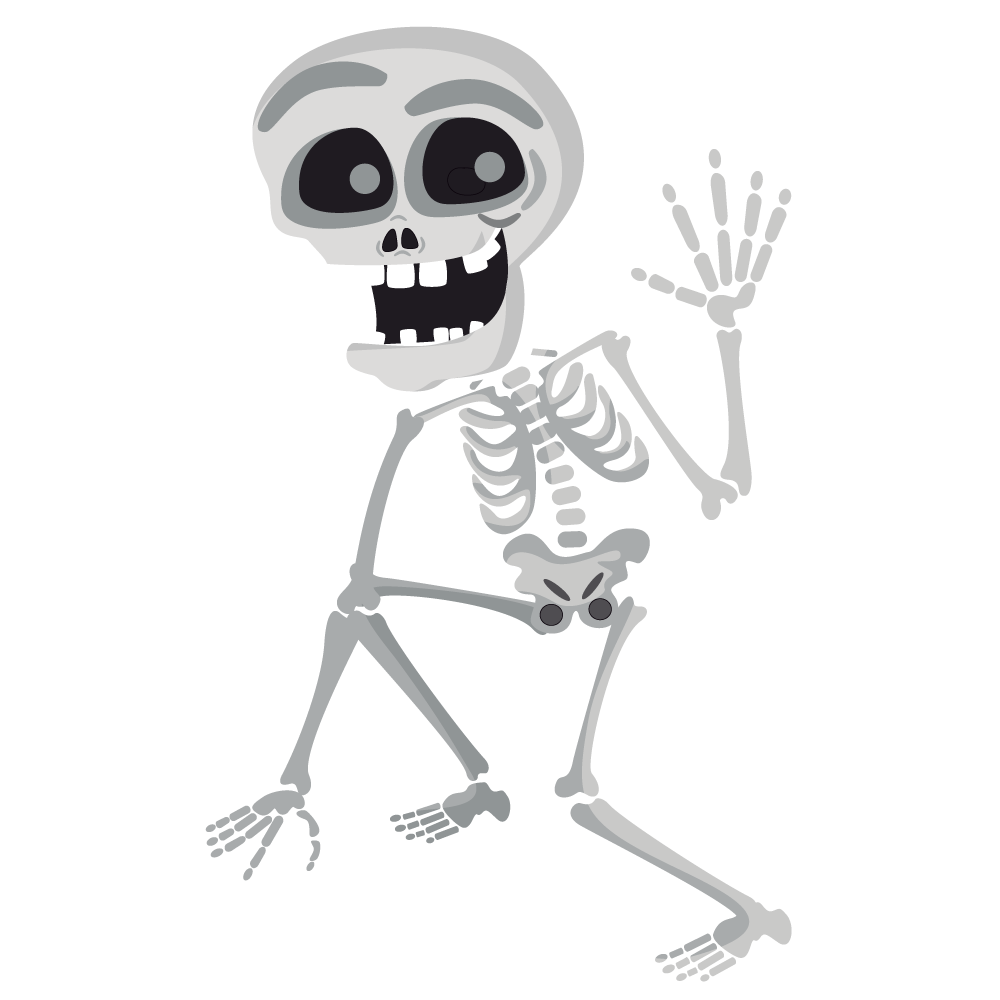 Skeleton Halloween Png 14051