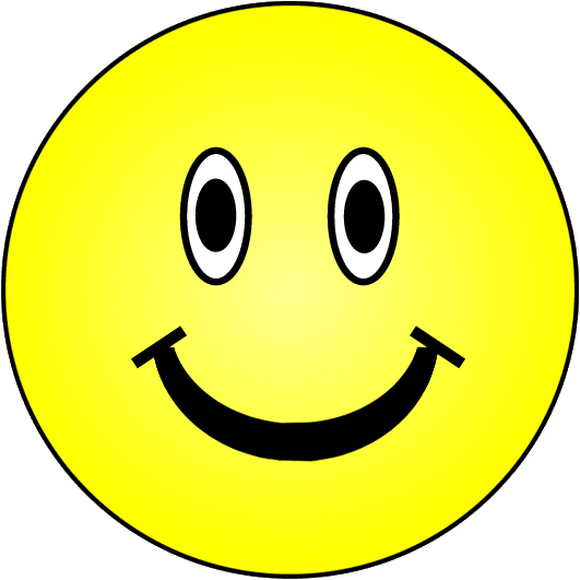 Yellow Happy Smiley Face Clip Art HD Image 21087
