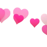 Pink, Heart, Snapchat Filters Png Transparent 4093