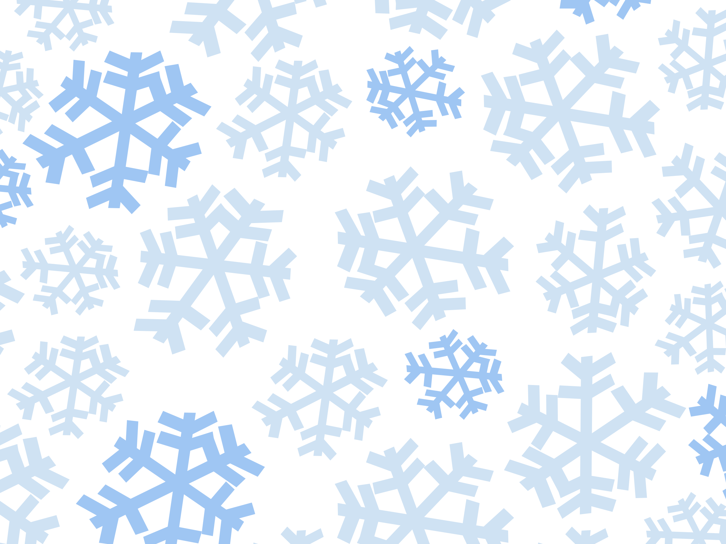 Snowflakes Clipart HD 11565