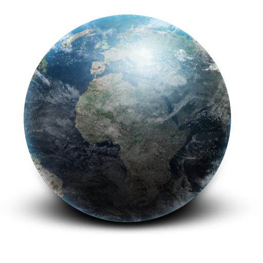 Space Planet Earth Icons Png 3712