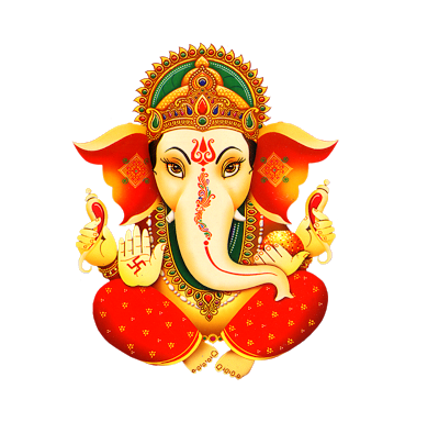 Lord Ganesh Png Picture With Transparent Clipart 6514