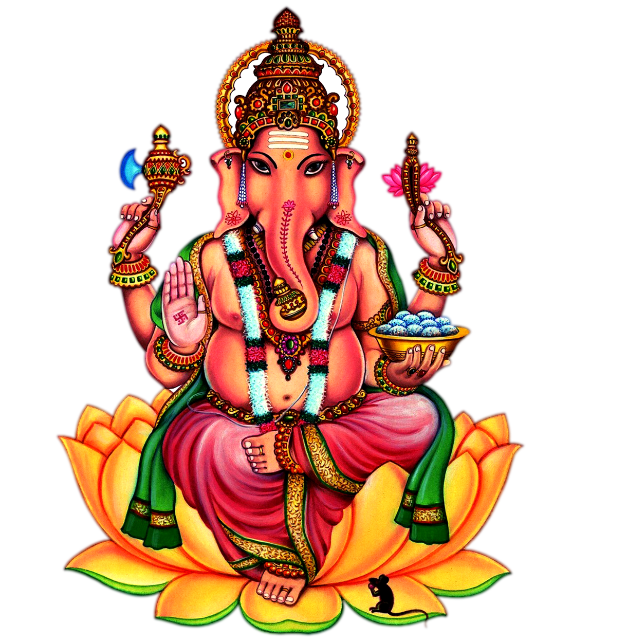 Sri Ganesh Png Images Transparent Backgound 6518
