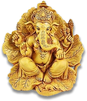 Sri Ganesh Png Transparent Images Gold 6516