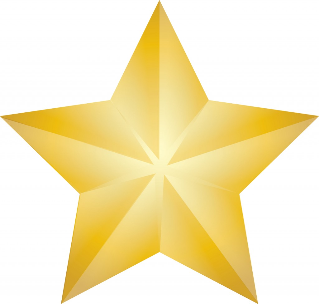 Gold Christmas Star Clipart Amazing Image Download 21074