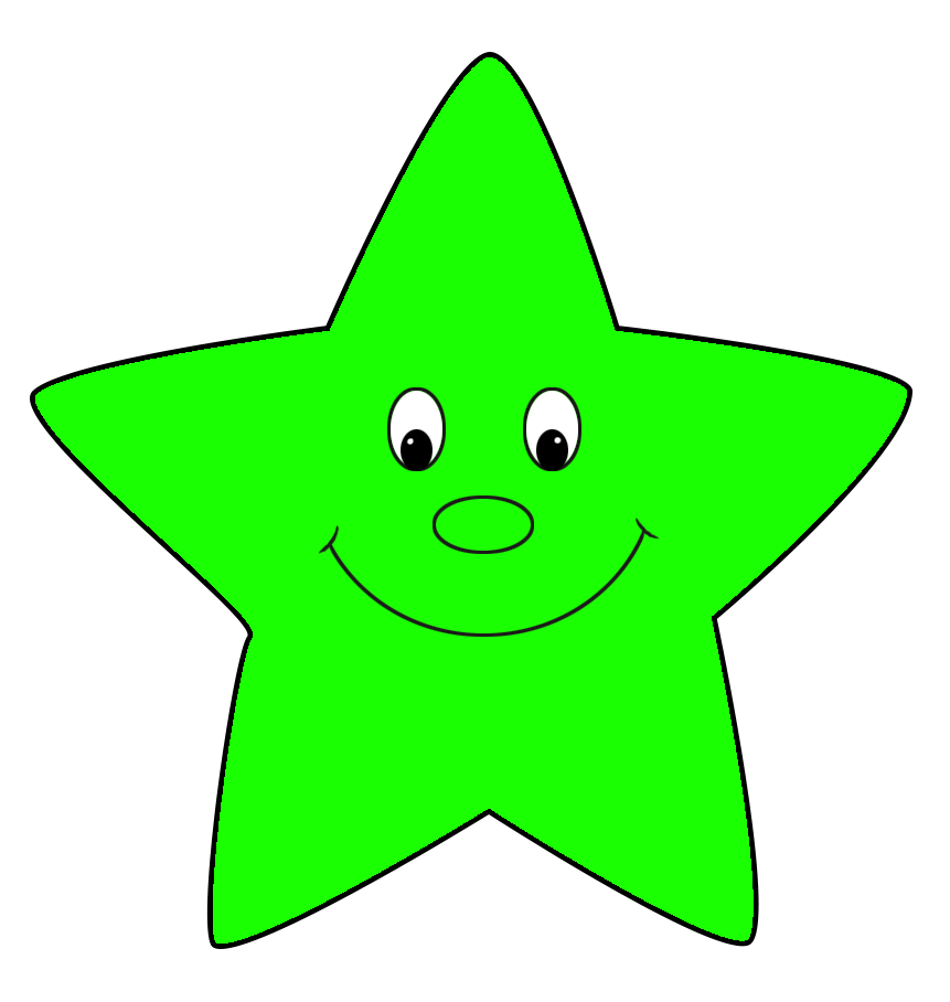 Star Clipart Green HD Image 21066