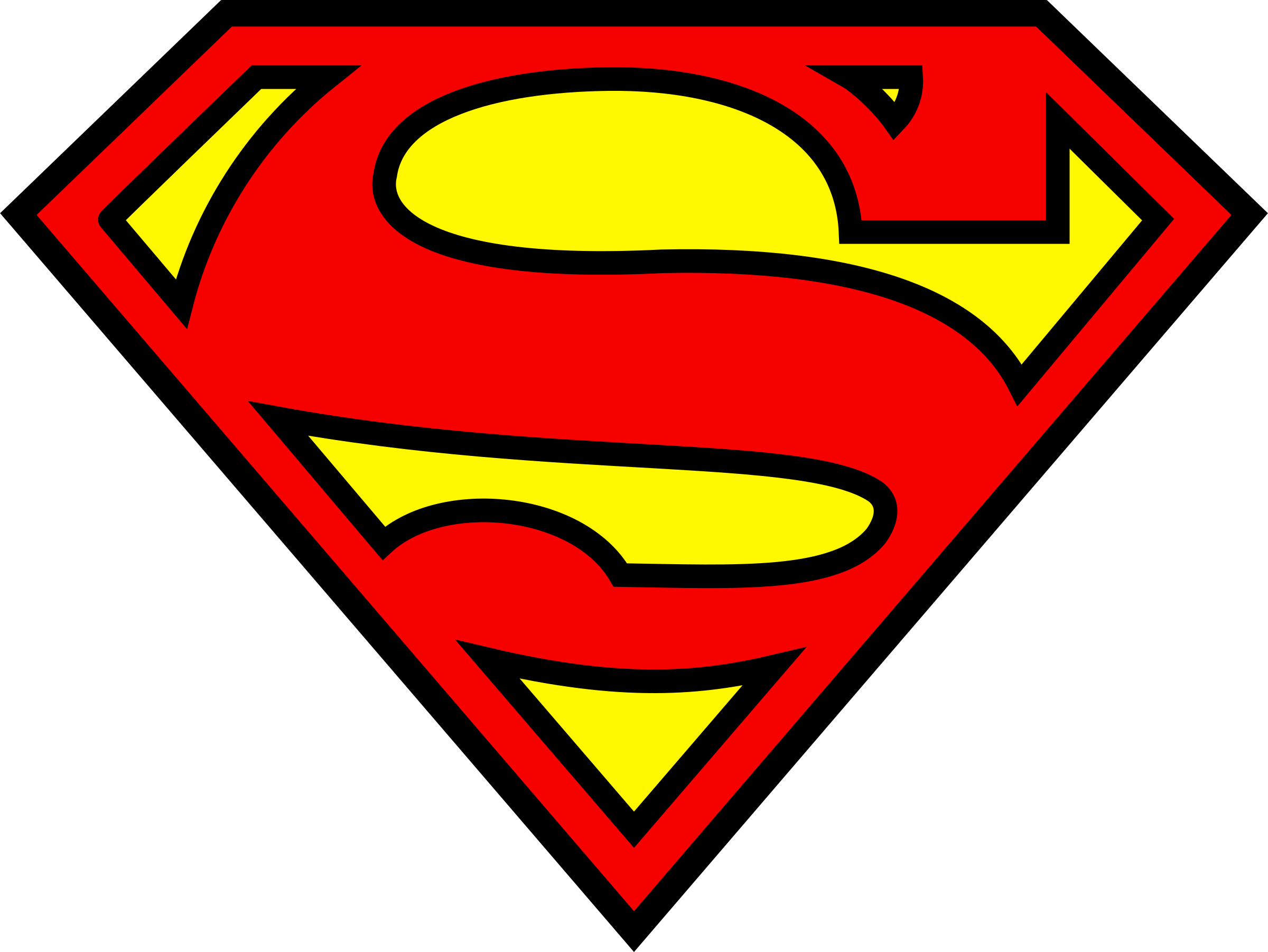 Red Yellow Superman Logo Free Transparent Png 21259