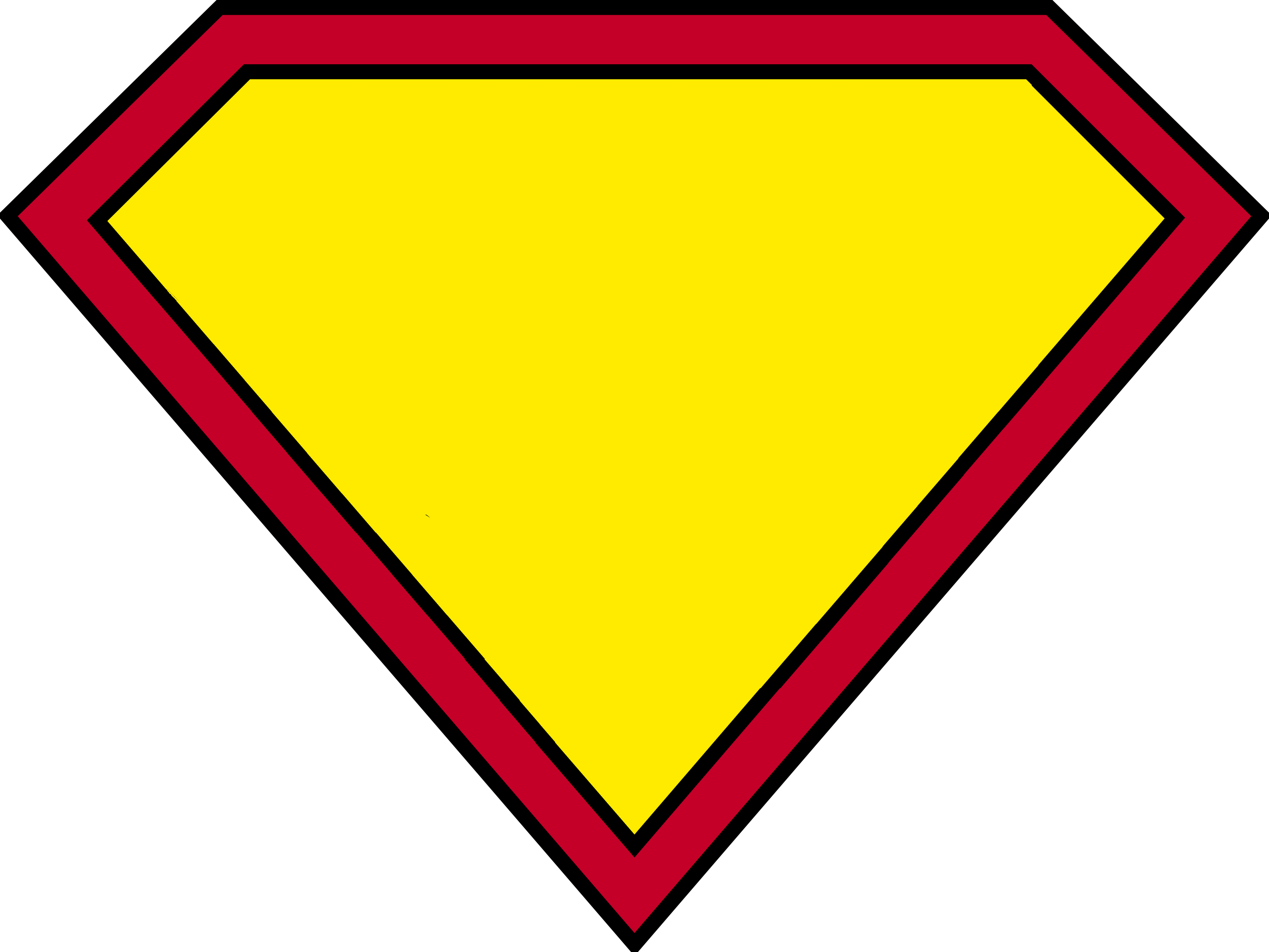 Superman Logo Blank HD Image 21263