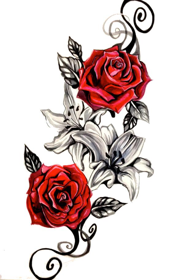 rose tattoo png transparent image 6057 transparentpng roller coaster clipart black and white roller coaster clipart images