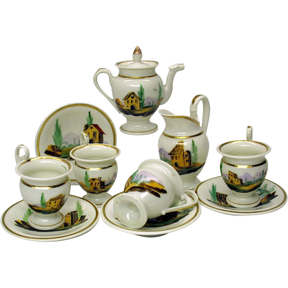 Tea Set Background 25833