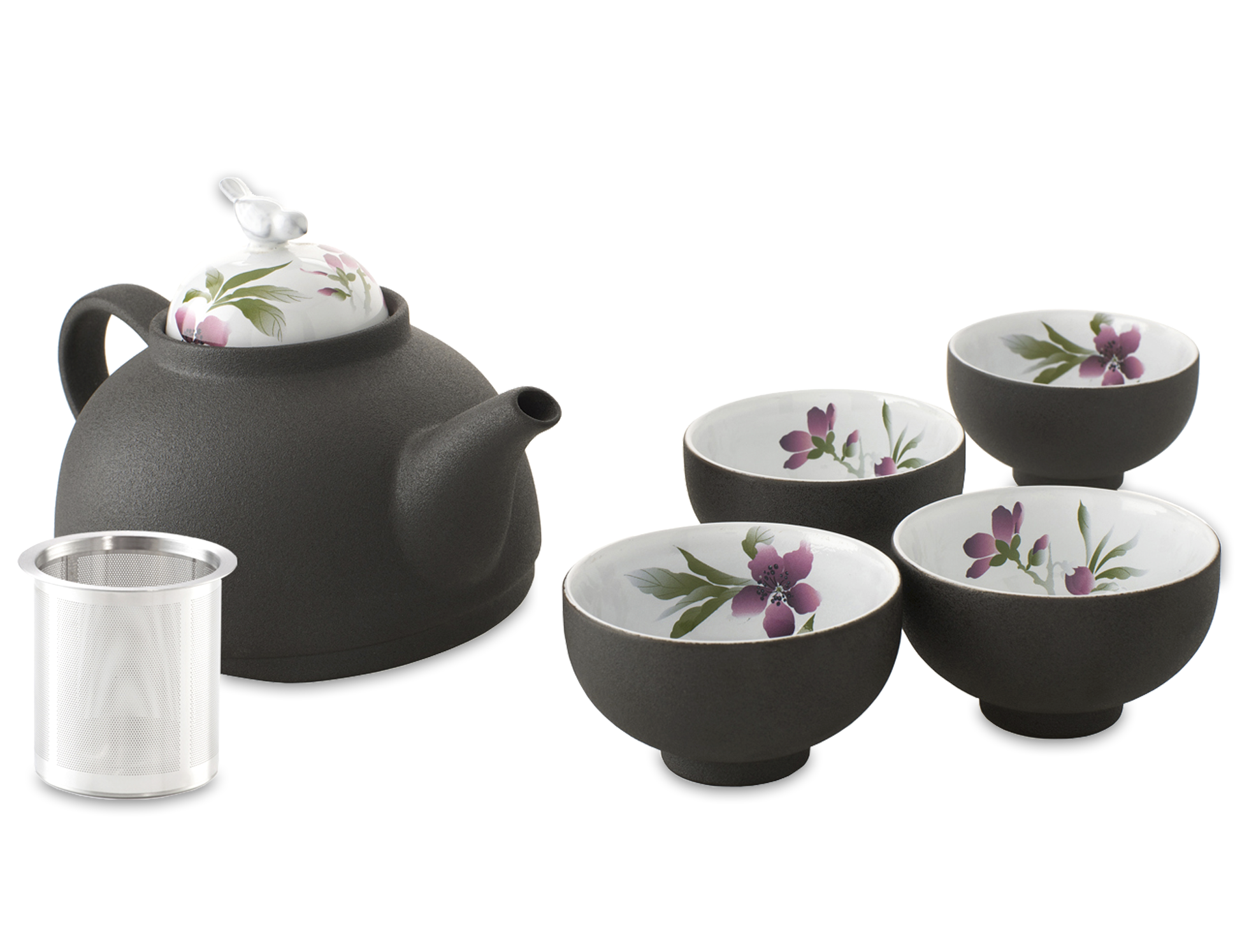 Dark Tea Set Clipart Photos 25835