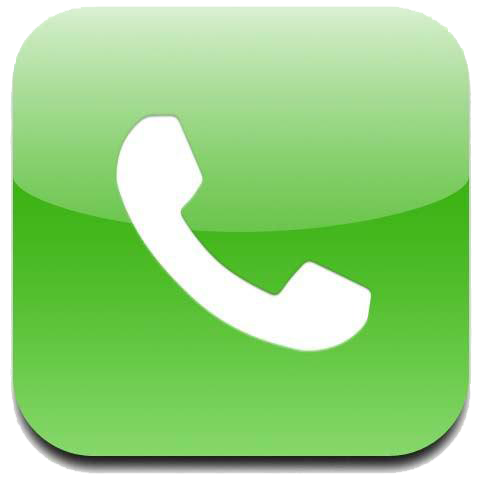 Green Phone Logo Png Clipart 942