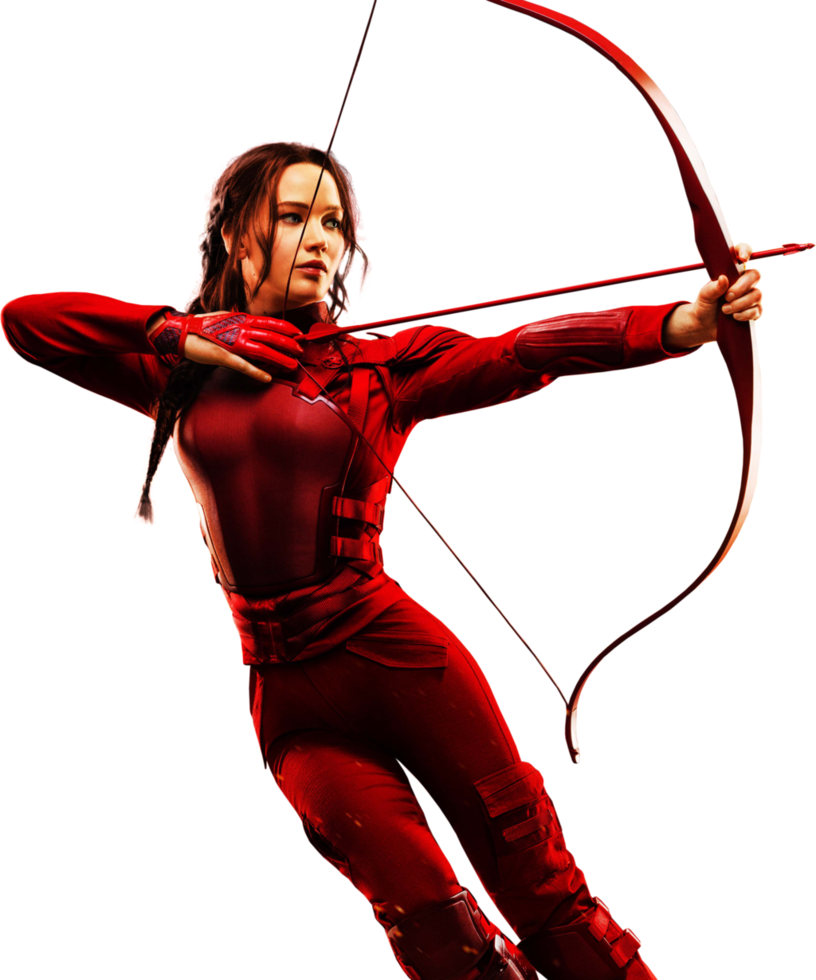 The Hunger Games Symbol Girl Arrow 26152
