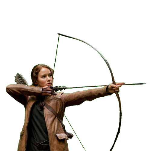 The Hunger Games Girl Arrow 26139