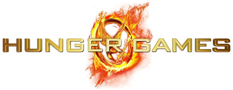 Text Logo The Hunger Games Clipart Transparent 26149