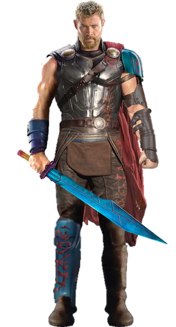 Blue Hair Thor Transparent Image 25756