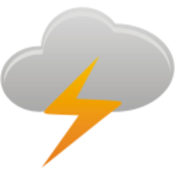 Clouds Thunder Images Clipart Png 1573