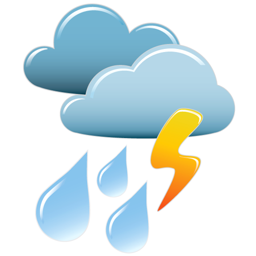 Collection Of Thunder Storm Icons Png 1579