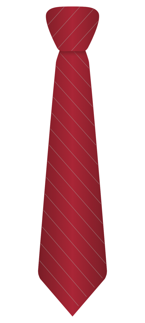Red Stripes Tie Transparent Background 25643