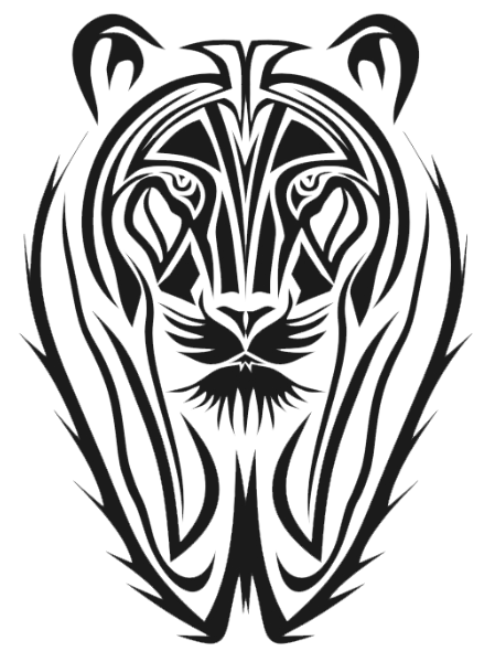 Tribal Tiger Tattoos Old Png 4725