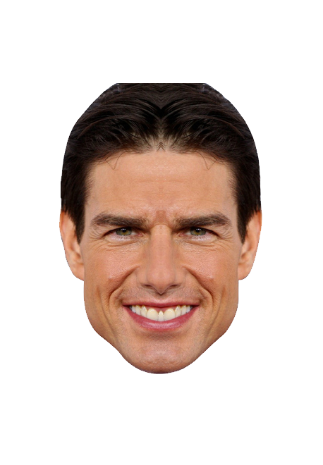 Tom Cruise Face Clipart PNG File 19869