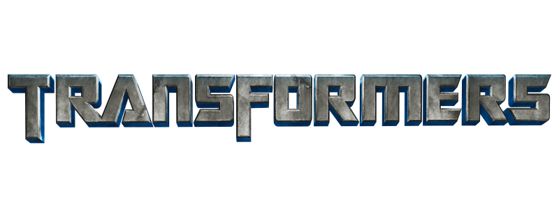 Transformers Text Logo Clipart PNG File 19547