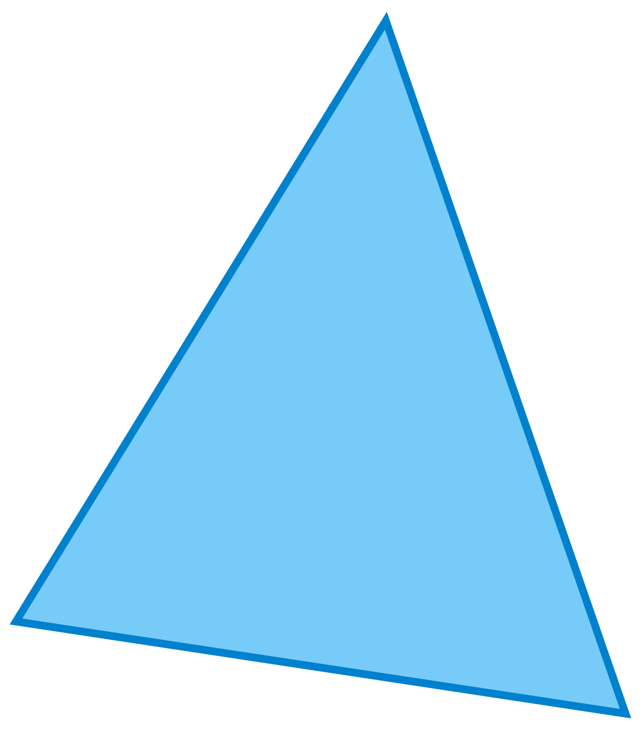 Triangle Vector 16918