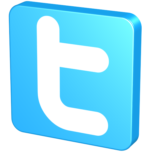 Blue Twitter Icon Casual Png 5985