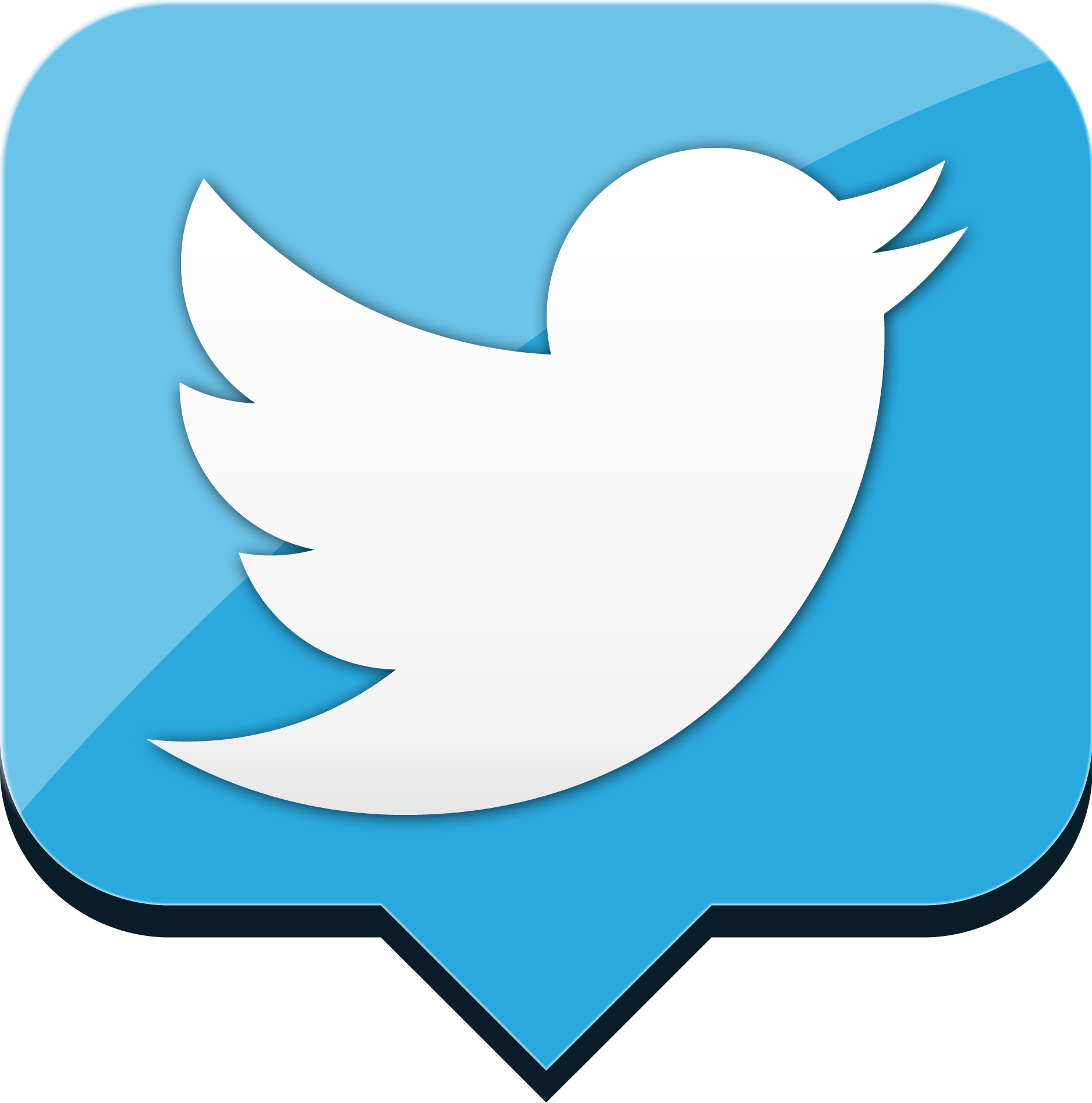 Message Twitter Icon Png 5983