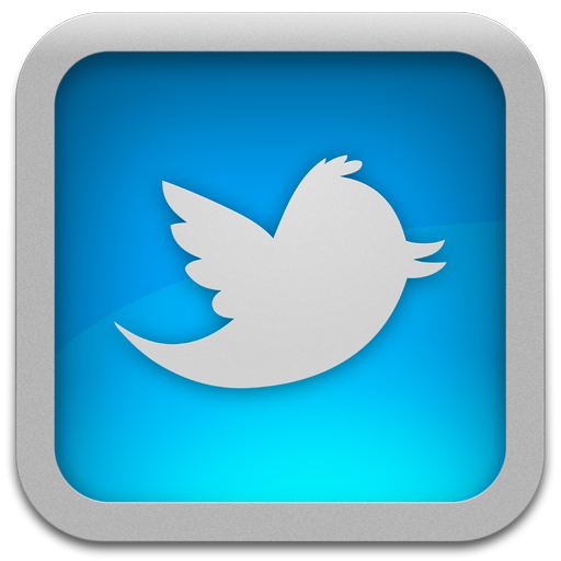 Twitter For Mac Blue Icon Png 5992