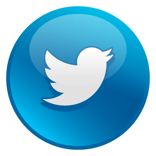 Twitter Glossy Social Icons Png 5989