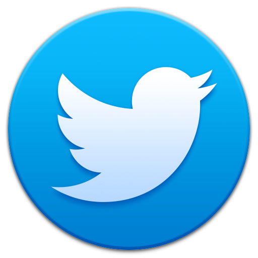 Twitter Smooth App Icons Png 5972