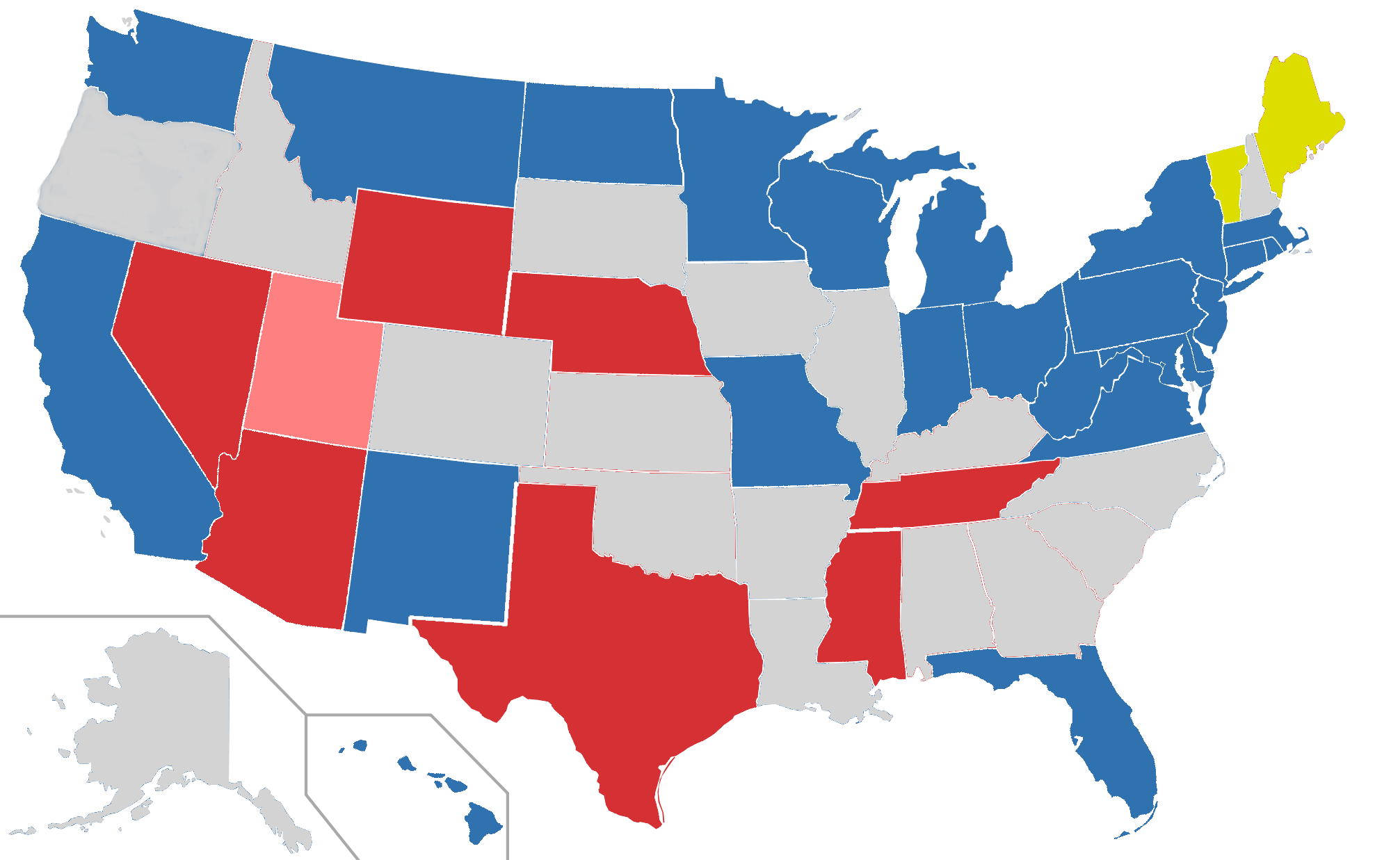 United States Map Free PNG - 8050 - TransparentPNG