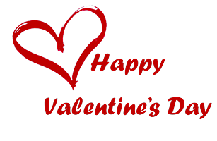 Happy Valentines Day, Hearts Png 6629