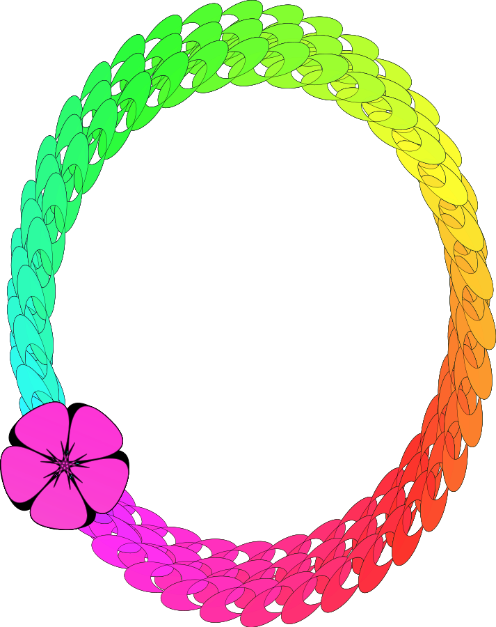 Circle Colorful Vector Frame Png 272
