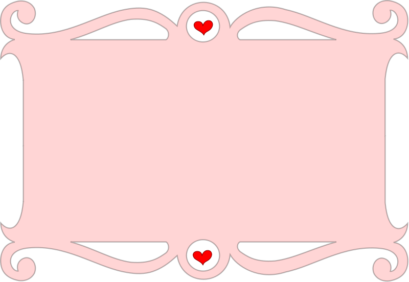 Heart, Vector Frame Png 258