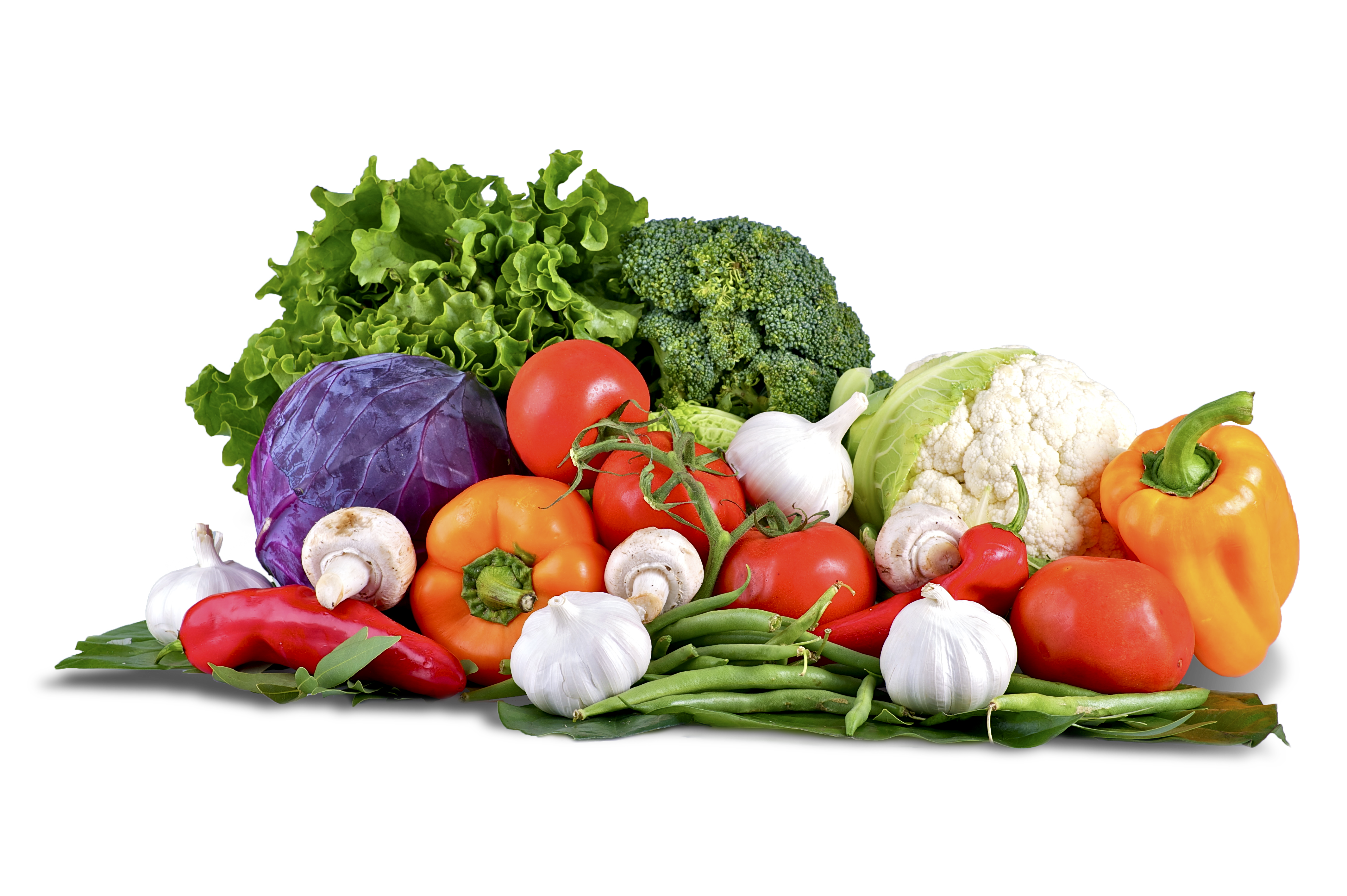 Raw Vegetable Picture Image