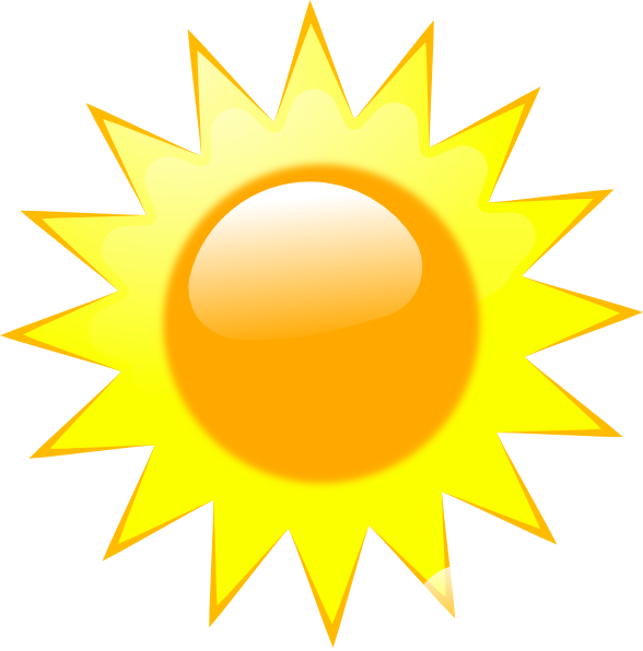 Clipart Weather Icon 9843